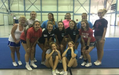 Cadet cheerleaders stack up with competition