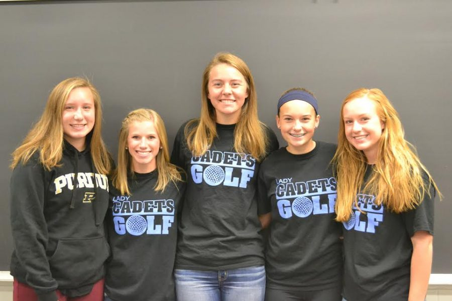 The Lady Cadets sectional squad broke a school record for sectional scoring that was set more than ten years ago.