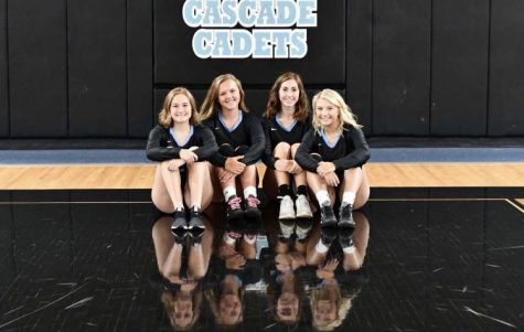 Cadet volleyball movin