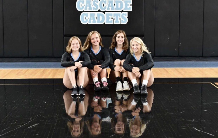 Cadet volleyball movin' up